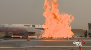 YYC Calgary International Airport hosts emergency training exercise