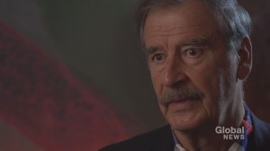 Former Mexican President Vicente Fox urges Justin Trudeau to make concessions to save NAFTA