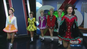 The Ulmer School of Irish Dancing prepares us for St. Paddy's Day