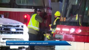 A sloppy commute after Toronto's winter storm: Wednesday, February 13