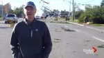 Mayoral candidate posts, then deletes video shot in tornado zone criticizing incumbent