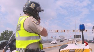 Quebec police promoting safety this construction holiday