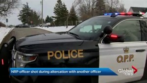 Niagara police officer remains in hospital after shooting involving 2 officers