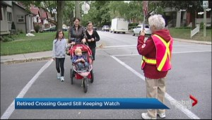 Toronto's longest serving crossing guard goes home