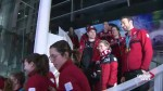 Olympic athletes receive hero's welcome in Montreal