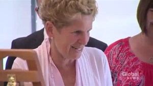 Did Kathleen Wynne abandon the Liberals?