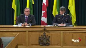 Brad Wall says he was in disbelief and shock after hearing news