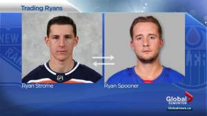 Oilers trade Ryan Strome to Rangers for Ryan Spooner