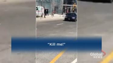 f3b0d8912c WATCH  Dramatic video shared to social media shows Toronto police  confronting and arresting a suspect. Story continues below. Alek Minassian  is accused of ...