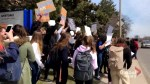 Hamilton students take part in province-wide protest of proposed education changes