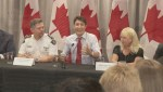 Trudeau talks gangs and guns in Surrey
