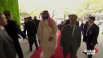 Saudi Crown Prince Mohammed bin Salman arrives at G20 summit