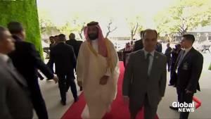 Saudi Crown Prince Mohammed bin Salman arrives at G20 summit