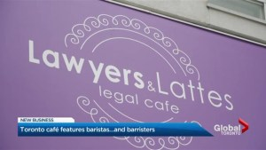 Legal advice, coffee and sweet treats offered at Toronto cafe