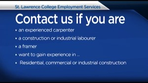 St. Lawrence College Employment Services shares job positions employers are looking to fill