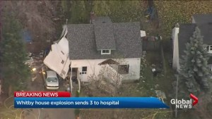 Home explosion sends three to hospital