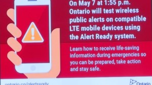 Mixed response to National Public Alert  cell phone testing