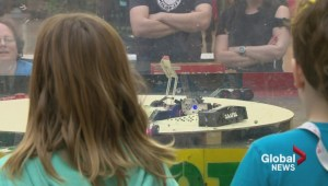 Saskatoon robotics club lets audience take fighting robots for a spin