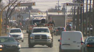 Convoy causes major traffic delays in the Queen City
