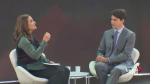 Trudeau talks about connecting with, engaging younger voters