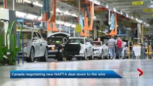 Canadian NAFTA negotiations coming down to the wire