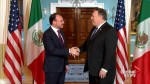 U.S. Secretary of State Pompeo welcomes Mexico's Foreign Secretary Videgaray