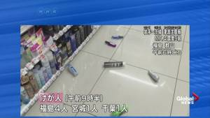 Raw video: aftermath of earthquake in Fukushima