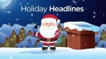A look at some Canadian festive headlines from 2018