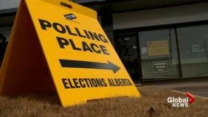 Advance polling stations open next week for Alberta spring election (01:31)