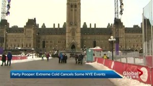 Extreme cold cancels some NYE events