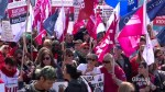 Thousands protest Ontario education cuts at Queen's Park
