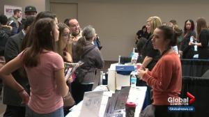 Large career fair takes place in downtown Edmonton