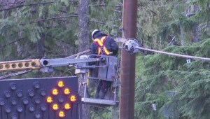 Storm cleanup continues on Vancouver Island