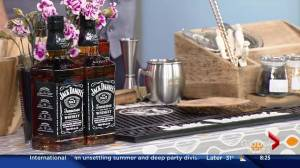 Making special cocktails with Jack Daniels
