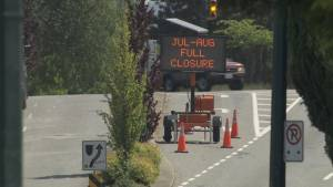 1st Avenue closures begin in Vancouver