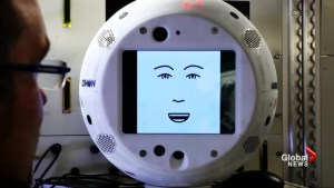 Astronaut welcomes first robot with artificial intelligence to ISS