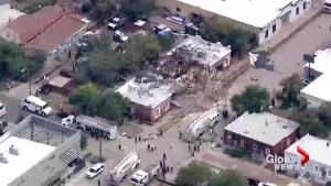 Nine injured in massive natural gas explosion in Denver