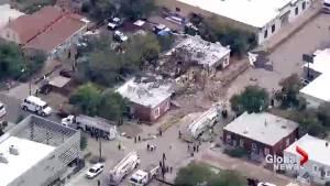 Nine injured in massive natural gas explosion in Denver