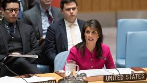 """Nikki Haley says relationship with Trump is """"perfect"""" (00:48)"""