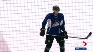 European hockey player adjusts to Canadian life in Edmonton
