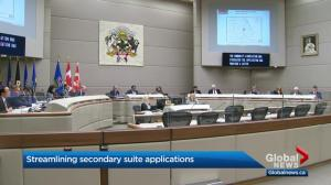 Calgary city council passes motion to change secondary suite process