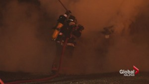 Firefighter students face one long and final test