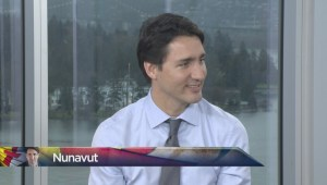 PM Justin Trudeau's connection to Nunavut