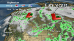 Saskatchewan weather outlook: cool down with showers on the way
