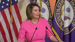 Pelosi says not at place to impeach yet, concerned for 'well-being' of Trump