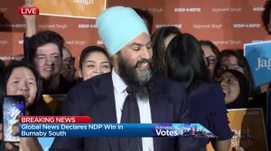NDP MP-elect Jagmeet Singh on his byelection victory