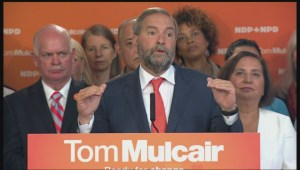 Mulcair: The best way to restore Canada's healthcare system is to get rid of the Harper conservatives