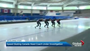 Canadian speed skating coach on leave amid investigation