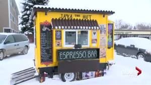 'Java the Hut' serving up coffee in Lethbridge (01:57)