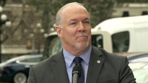 B.C. premier announces long-term plan for clean energy vehicles